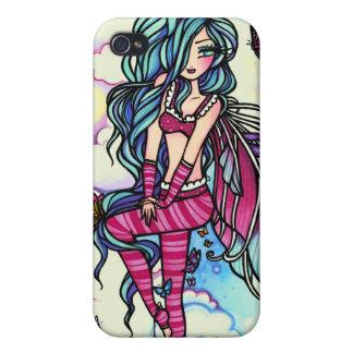 Aia Fairy Butterfly Sky Fairy iPhone 4/4S Cases