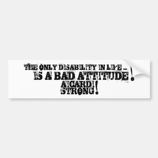 Aicardi Strong Bumper Sticker
