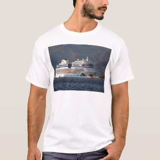Aida Stella Cruise Ship Leaving Marmaris T-Shirt