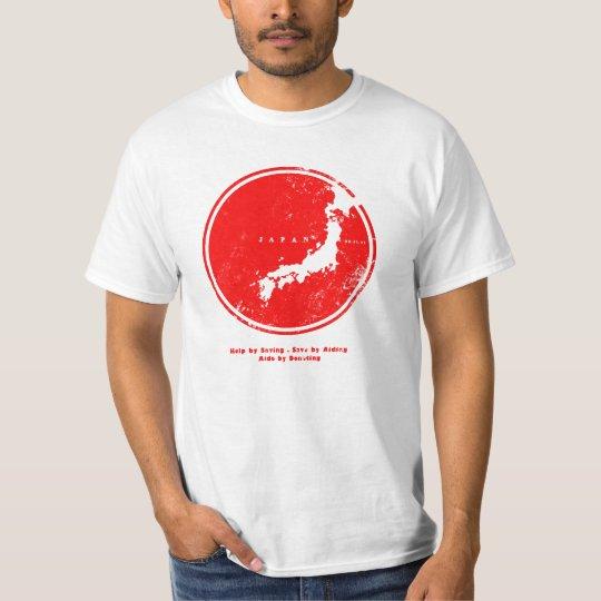 aide japan circle T-Shirt