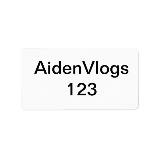 AidenVlogs 123 Label For My Office // Alfie's Offi