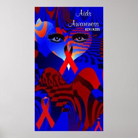 Aids Awareness, HIV/AIDS_Poster Poster