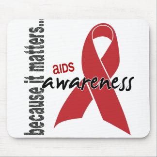 AIDS Awareness Mouse Pad