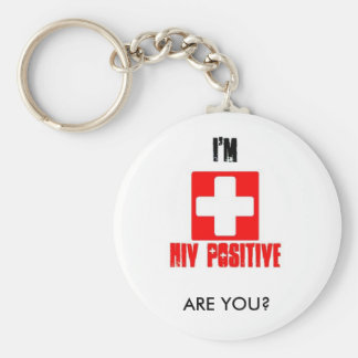 AIDS Awareness National Day of Action Keychain