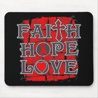 AIDS Faith Hope Love Mousepads