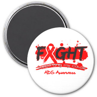 AIDS FIGHT Supporting My Cause Magnets