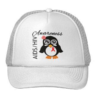AIDS HIV Awareness Penguin Hats
