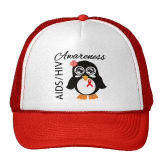 AIDS HIV Awareness Penguin Trucker Hat