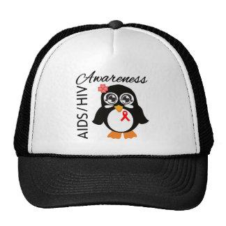 AIDS HIV Awareness Penguin Trucker Hats