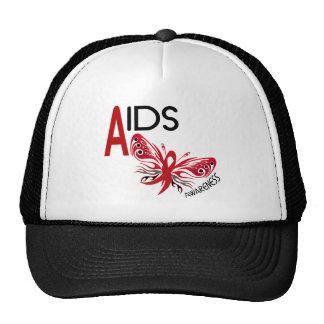 AIDS / HIV Butterfly 3 Awareness Trucker Hat