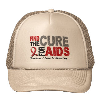 AIDS / HIV Find The Cure 1 Trucker Hat