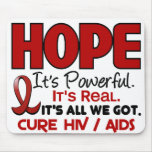 AIDS HIV HOPE 1 MOUSE MATS