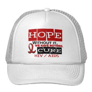 AIDS HIV HOPE 2 HAT