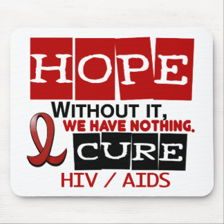 AIDS HIV HOPE 2 MOUSE MATS