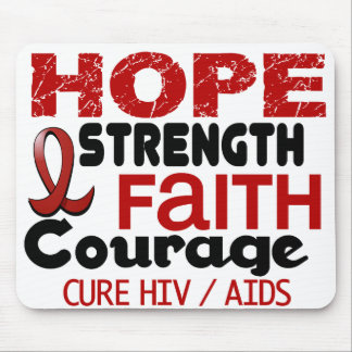 AIDS HIV HOPE 3 MOUSE PADS
