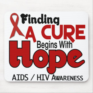 AIDS HIV HOPE 5 MOUSE MAT