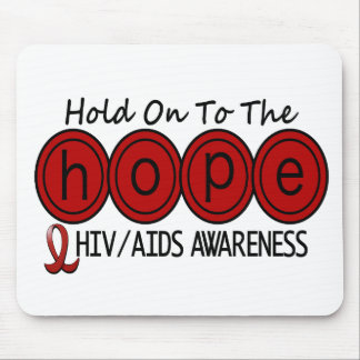 AIDS HIV HOPE 6 MOUSE MATS