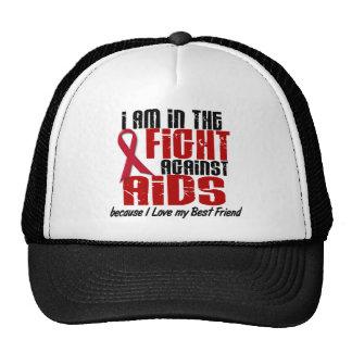 AIDS HIV In The Fight 1 Best Friend Trucker Hat