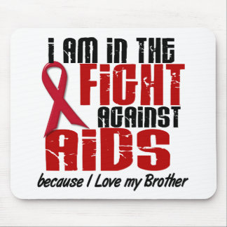AIDS HIV In The Fight 1 Brother Mouse Mat