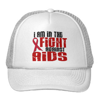 AIDS HIV In The Fight 1 Trucker Hat
