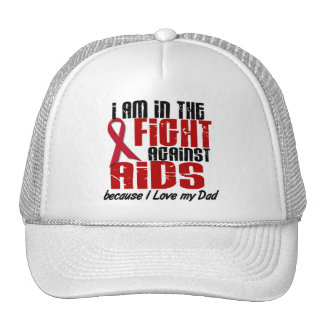 AIDS HIV In The Fight 1 Dad Trucker Hat