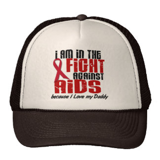 AIDS HIV In The Fight 1 Daddy Cap