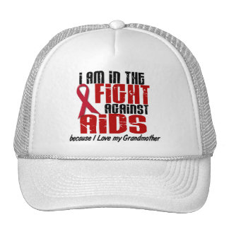 AIDS HIV In The Fight 1 Grandmother Trucker Hat