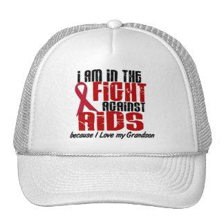 AIDS HIV In The Fight 1 Grandson Cap