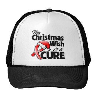 AIDS HIV My Christmas Wish is a Cure Cap