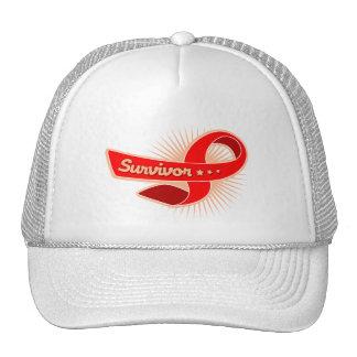 AIDS HIV Survivor Ribbon Cap