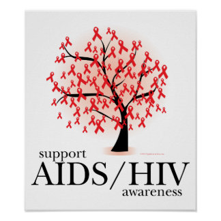 AIDS HIV Tree Posters