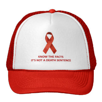AIDS:  Know The Facts Cap