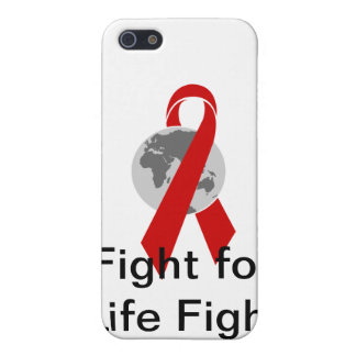 Aids Logo Fight for Life Fight for Cure iPhone 5 Covers