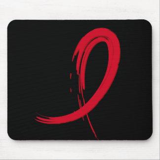 AIDS Red Ribbon A4 Mousepad