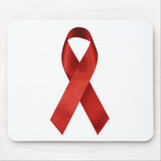 aids-ribbon mouse pad