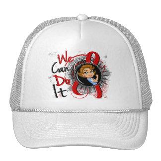 AIDS Rosie Cartoon WCDI Trucker Hats