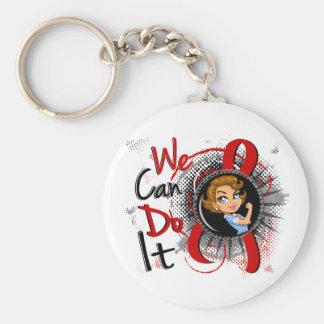 AIDS Rosie Cartoon WCDI Key Chains