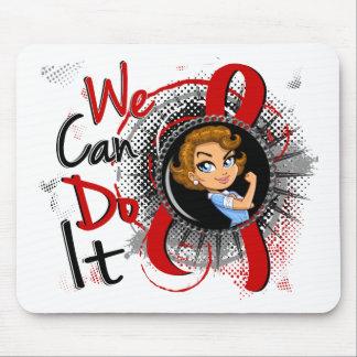 AIDS Rosie Cartoon WCDI Mousepad