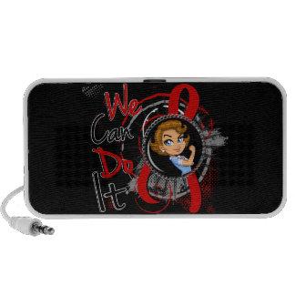 AIDS Rosie Cartoon WCDI Mp3 Speakers