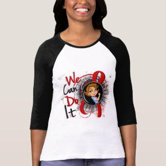 AIDS Rosie Cartoon WCDI Tshirts