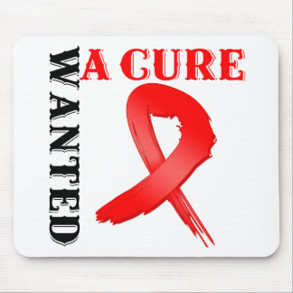 AIDS WANTED A CURE MOUSE PADS