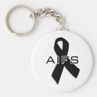 AIFS keychain! Basic Round Button Key Ring