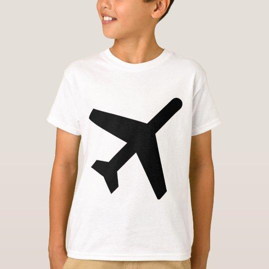 AIGA Departures Sign (Aeroplane) T-Shirt
