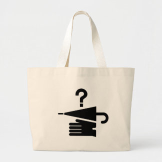 AIGA Lost and Found Sign Jumbo Tote Bag