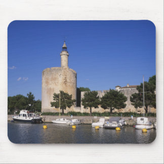 Aigues Mortes, Rhone and Sete Canal, Gard, Mouse Pad