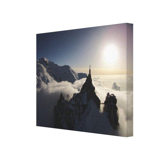 Aiguille du Midi & Mont Blanc at Sunset