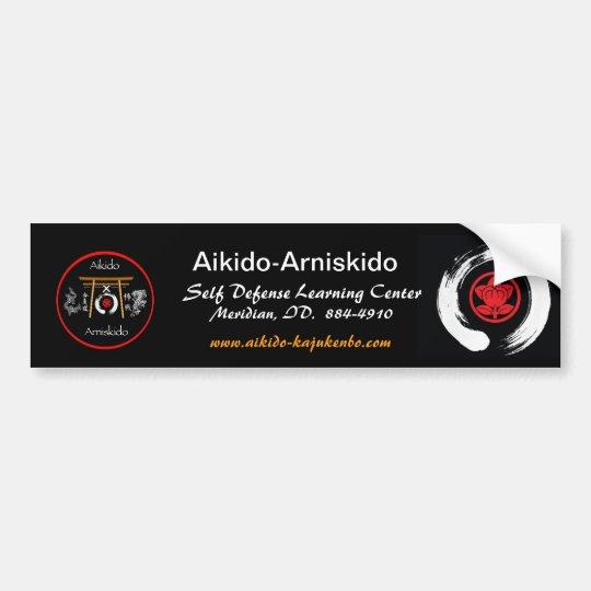 Aikido-Arniskido Bumper Sticker