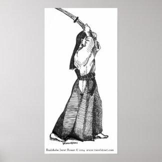 Aikido Budobabe Poster