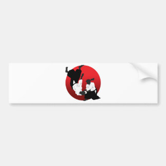 Aikido Car Bumper Sticker