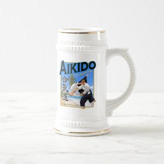 Aikido Caribbean Style Stein Coffee Mugs